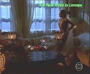 Ana Paula Arosio em topless na novela Paginas da Vida