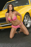 Candice Michelle Hot Rod Magazine Foto 359 (Кендис Мишель Журнал Hot Rod Фото 359)