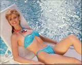MARKIE POST swimsuits -- hot 1980's portraits