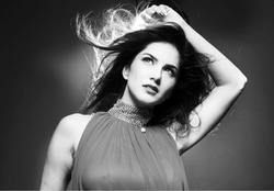 Sunny Leone - New B&W Photoshoot