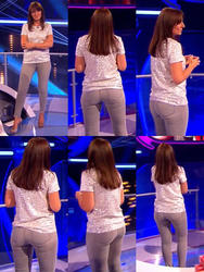 Davina McCall - Ass in Jeans / Ass flash - Million Pound Drop - 20/07/12