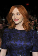 Christina Hendricks - Carolina Herrera Fall 2011 Fashion Show 14-02-2011
