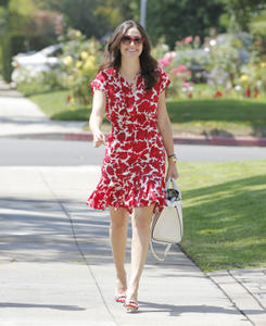 Emmy Rossum out in LA 07-02-2014