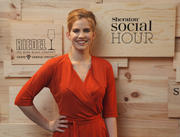 "Anna Chlumsky- Sheraton Hotel ""Social Hour"" Launch Party in New York 5/15/12- 2 HQ"