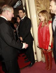 Kylie Minogue, Prince Charles, Gary Barlow - Royal Variety 2010