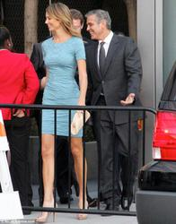 Stacy Keibler - Obama Fundraiser 10/07/12